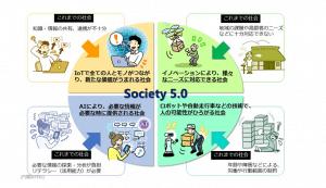 Society 5.0の現状課題